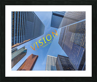 vision Picture Frame print