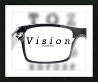 vision 2 Picture Frame print