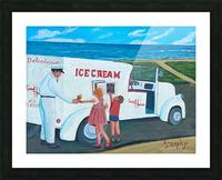 Ice Cream Picture Frame print