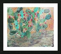 Cactus Picture Frame print