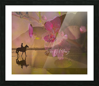 ARTCHEVALFLEURAGC16000 Picture Frame print