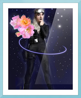 Cosmic Colleen Picture Frame print