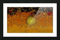 Mayan Sun Picture Frame print