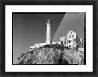 Alcatraz Lighthouse, California Picture Frame print