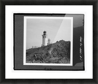 Anacapa Island Light Station, California Picture Frame print