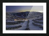 twilight jan 2020 Picture Frame print
