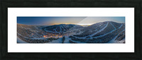 Valley Twilight  Picture Frame print