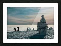 Technicolour Contemplation Picture Frame print