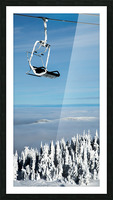 Steel Sky Picture Frame print