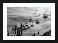 Crystal Clouds Picture Frame print