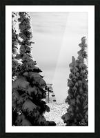Silver Sliver Picture Frame print