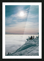 Soft Illumination  Picture Frame print