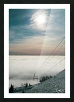 Sun Scape Picture Frame print