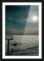 Rising Above Picture Frame print