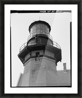 Block Island Southeast Light (Detail) Picture Frame print