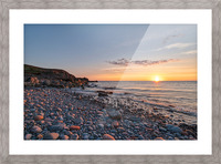 Corney Brook Sunset Picture Frame print