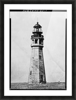 Buffalo Lighthouse, New York Picture Frame print