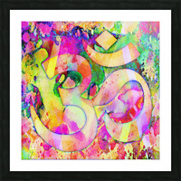 Om Rays Picture Frame print