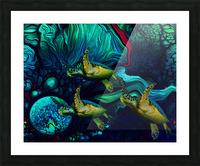 Turtles en Saison 8 Picture Frame print