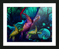 Turtles en Saison 5 Picture Frame print