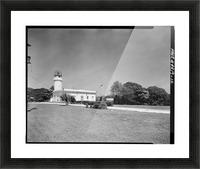 Faro de Punta Borinquen, Puerto Rico Picture Frame print