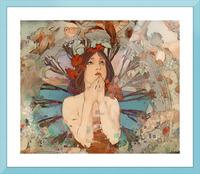 Art  Nouveau Redux Picture Frame print