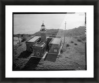 Faro Isla de Culebritas, Puerto Rico Picture Frame print
