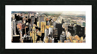 View to the Chrysler Building New York Picture Frame print