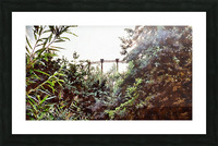 Old Gasometer Kings Cross London Picture Frame print