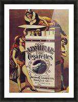 Admiral Cigarettes National Cigarette Tobacco Co Ad Poster 1890 Picture Frame print
