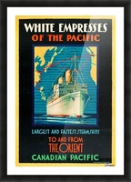 Canadian Pacific Travel Poster Picture Frame print