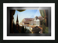 Architects Dream by Thomas Cole Classical Fine Art Xzendor7 Old Masters Reproductions Picture Frame print