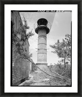 Monomoy-Point-Light-Station-2-Mass Picture Frame print