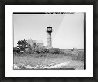 Monomoy-Point-Light-Station-Mass Picture Frame print