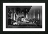 The Death Of Julius Caesar In The Roman Senate Engraving by James Charles Armytage Classical Fine Art Xzendor7 Old Masters Reproductions Picture Frame print