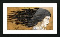 Precious Metals - Concept Art 1 - Gold Picture Frame print