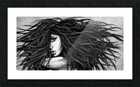 Precious Metals - Concept Art 2 - Silver Picture Frame print