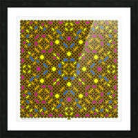 Celtic Maze 5030 Picture Frame print