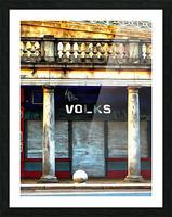 Volks Ticket Office Brighton Picture Frame print