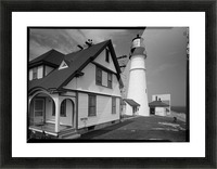 Portland-Head-Light-Maine Picture Frame print