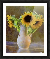 It's What Sunflowers Do - Flower Art by Jordan Blackstone Picture Frame print