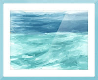 Looking for Swells Picture Frame print