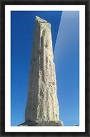 Old ruin near the coast of Aegina Island, Greece Picture Frame print