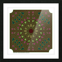 Labyrinth 1802 Picture Frame print