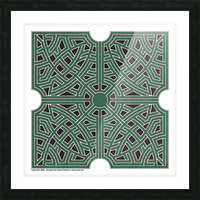 Labyrinth 1808 Picture Frame print
