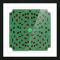 Labyrinth 1804 Picture Frame print