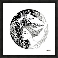 Symbiosis Picture Frame print