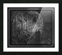 Over London by Rail by Gustave Dore Classical Fine Art Xzendor7 Old Masters Reproductions Picture Frame print
