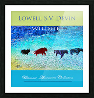 Devin Wildlife UAC Show Poster Picture Frame print
