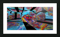 EXTREME Roller Coaster RoomXpander tm Tracking Art Picture Frame print